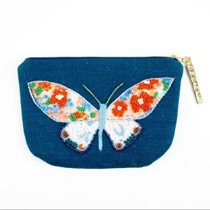 XOXO Dominique | Beaded Butterfly Pouch